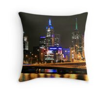 By the Yarra, Melbourne Throw Pillow
