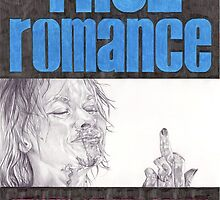TRUE ROMANCE hand drawn movie poster in pencil by theexiledelite