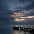Light on Corio Bay,Portarlington by Joe Mortelliti