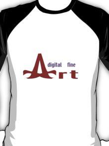 Digital Fine Art (logo#3) T-Shirt