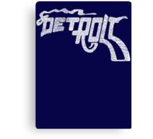 Mac Always Sunny Detroit Gun T-shirt Canvas Print