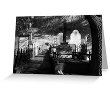 Silence Lane Greeting Card