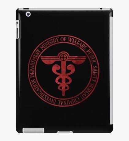 Public Safety Bureau iPad Case/Skin
