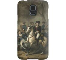 George Washington as a Soldier Samsung Galaxy Case/Skin