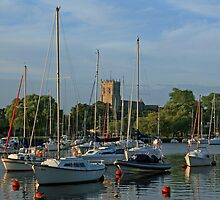 Summer Evening on the Stour by RedHillDigital