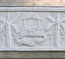 Decorative relief tile by Danpatterson