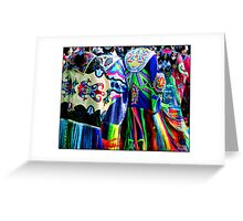 Women Shawl Dancers Greeting Card