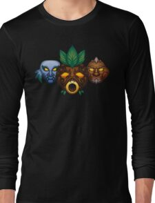 Faces of the Hero Long Sleeve T-Shirt