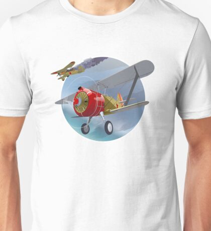 Dogfight on the sky 1939 Unisex T-Shirt