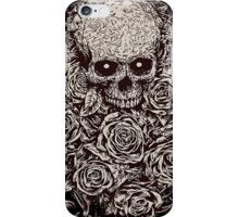 Skull & Roses iPhone Case/Skin