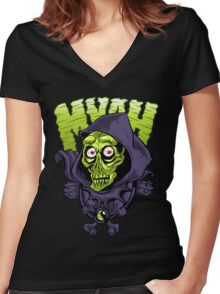 Myah I Keel You Women's Fitted V-Neck T-Shirt