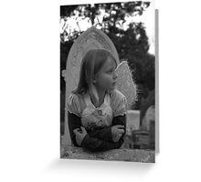 Grave Angel 4 Greeting Card