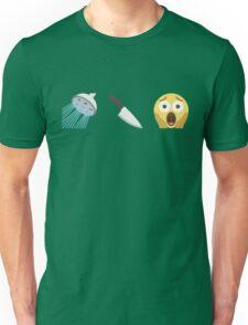 Psycho Emoji Graphic Unisex T-Shirt