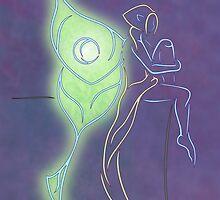 Luna Moth by Rayenae