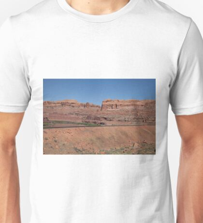 Train Tracks in the Utah Desert Unisex T-Shirt
