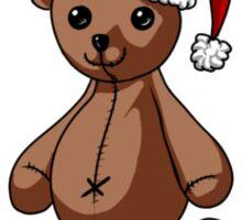 Peppermint Teddy Sticker