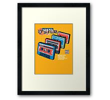 Sounds of the 80s Vol.4 Framed Print