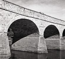 Richmond Bridge—Rolleiflex 2.8, Pan F Plus by Brett Rogers