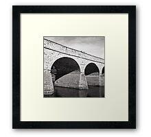 Richmond Bridge—Rolleiflex 2.8, Pan F Plus Framed Print