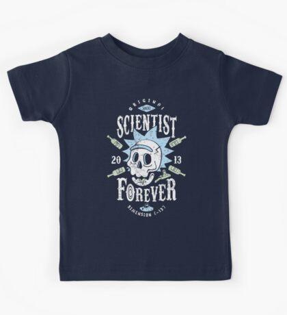 Scientist Forever Kids Tee