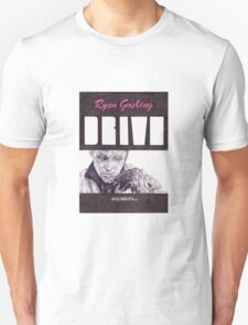 DRIVE hand drawn movie poster in pencil Unisex T-Shirt