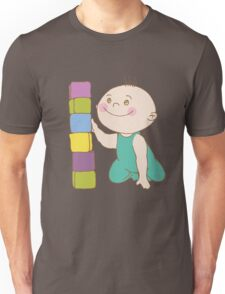 Baby Play With Toys Unisex T-Shirt