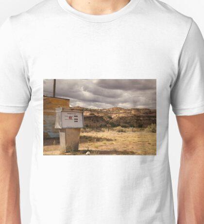 Abandoned Utah Gas Station Unisex T-Shirt