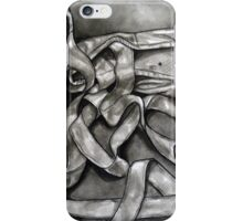 Pointe shoes in Ink iPhone Case/Skin