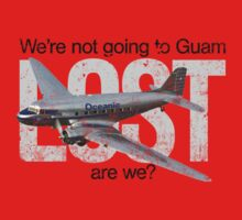 We're not going to Guam...are we? Kids Tee
