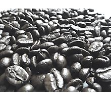 Play With Your Food - Coffee Beans Photographic Print