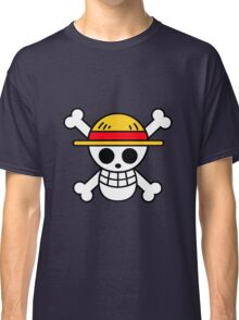 Straw Hat Luffy's Pirate Flag Classic T-Shirt