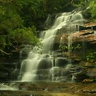 Upper Somersby Falls with Wazza & Kenko by Michael Matthews