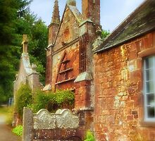 Delgatie Castle - Folly 2 (near Turriff, in Aberdeenshire, Scotland) by Yannik Hay