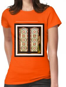 A Window in Henley Womens Fitted T-Shirt