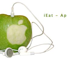iEat - Apple by Stefan Trenker