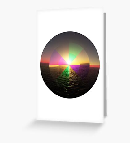 Sun Spot Greeting Card