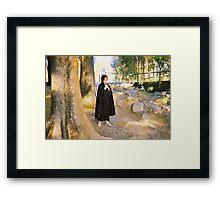 Little Hobbit full colour Framed Print