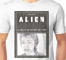 ALIEN hand drawn movie poster in pencil Unisex T-Shirt
