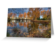 Autumn in Otago County Greeting Card
