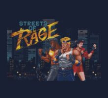 Streets of Rage T-shirt by jimmy-rage