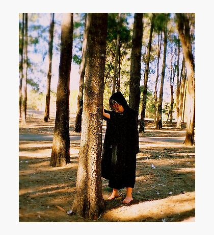 Communing With Trees Photographic Print