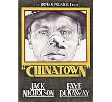 CHINATOWN hand drawn alternative movie poster in pencil. Photographic Print