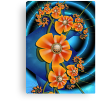 Candied Fruit Flowers Canvas Print