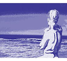 Looking at the Sea Photographic Print
