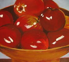 red apples by Samuel Friday