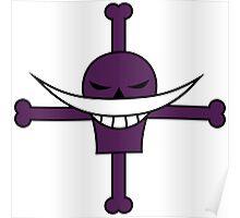 WhiteBeards Pirate Flag Poster