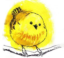 Yellow Warbler by Christina Baal