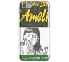 AMELIE hand drawn movie poster in pencil iPhone Case/Skin