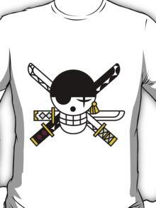 Pirate Hunter Zoro's Flag T-Shirt