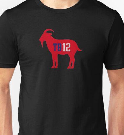 tom brady 12 goat Unisex T-Shirt